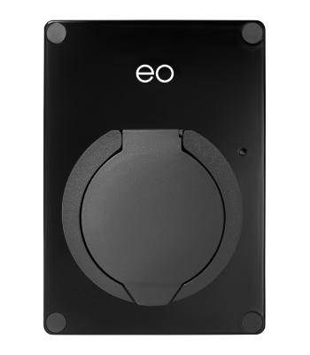 EO EV Mini Wall Charger Single Phase 32 Amp (Black)