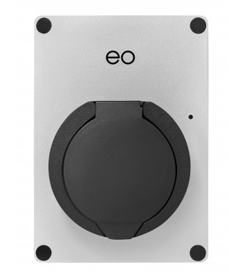 EO Mini Pro 2 Wall Charger (silver) Active Load Management  Package